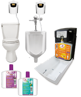 Urinal and Toiley Sanitizer System